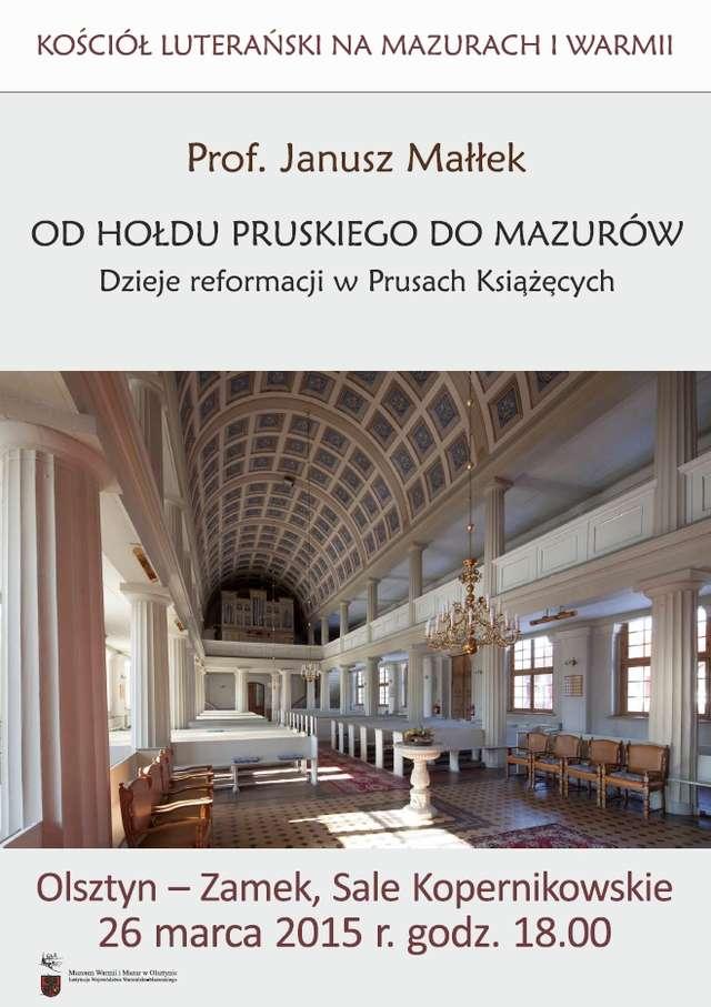 Kościół luterański na Mazurach i Warmii - full image