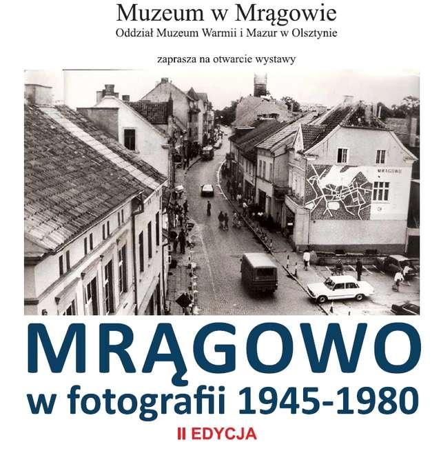 """Wystawa """"Mrągowo w fotografii 1945-1980"""" edycja II - wystawa czasowa. - full image"""