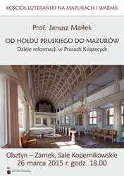 Kościół luterański na Mazurach i Warmii