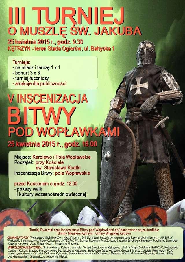 V inscenizacja Bitwy pod Wopławkami - full image