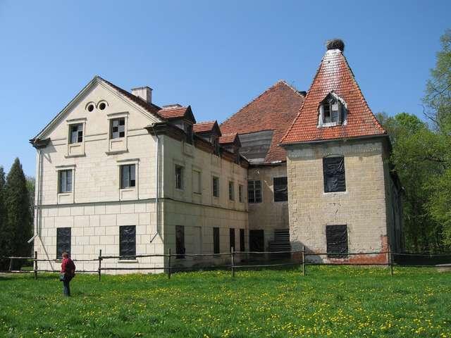 Wizyta na zamku w Olsztynie przedstawicieli Polsko-Niemieckiej Fundacji Ochrony Zabytków Kultury - full image