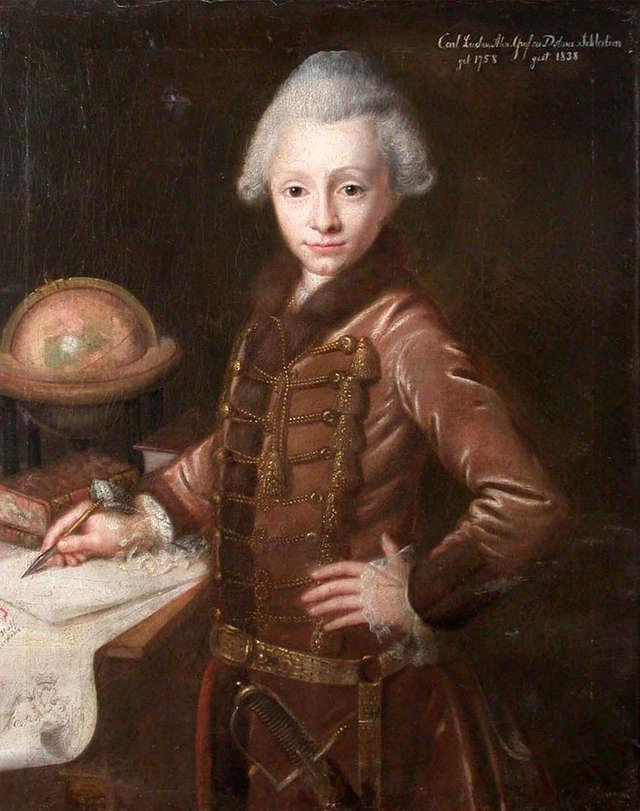 Autopsja młodzieńczego portretu Karola Ludwika Aleksandra zu Dohna (1758–1838). - full image