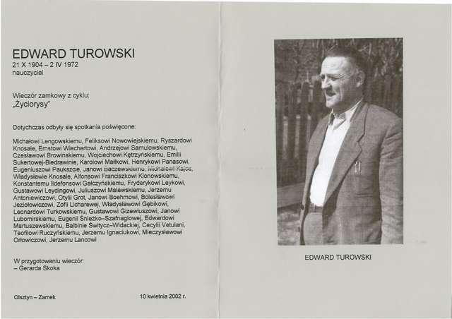 Edward Turowski (21.10.1904 - 2.04.1972) - full image