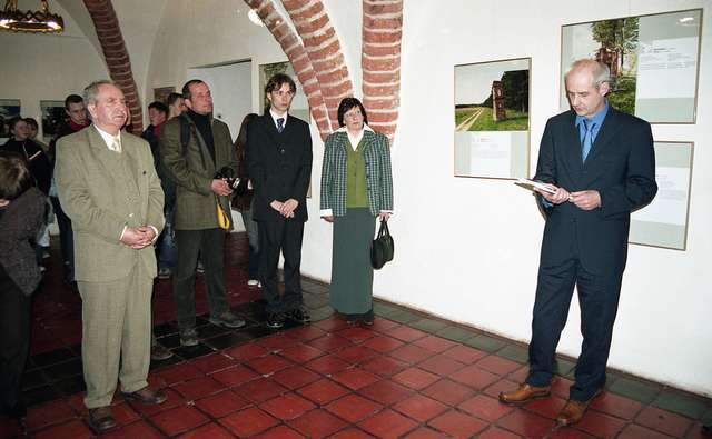 Otwarcie wystawy Warmińskie kapliczki. Zamek w Lidzbarku Warmińskim.  - full image