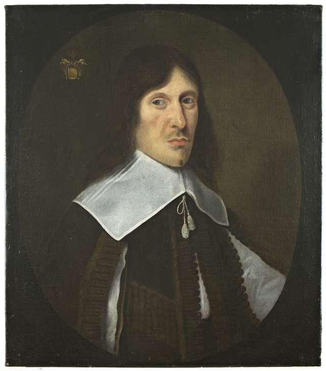 Pozyskano do zbiorów sztuki dawnej obraz nieznanego malarza holenderskiego Portret młodego mężczyzny z trzeciej ćwierci XVII w.  - full image