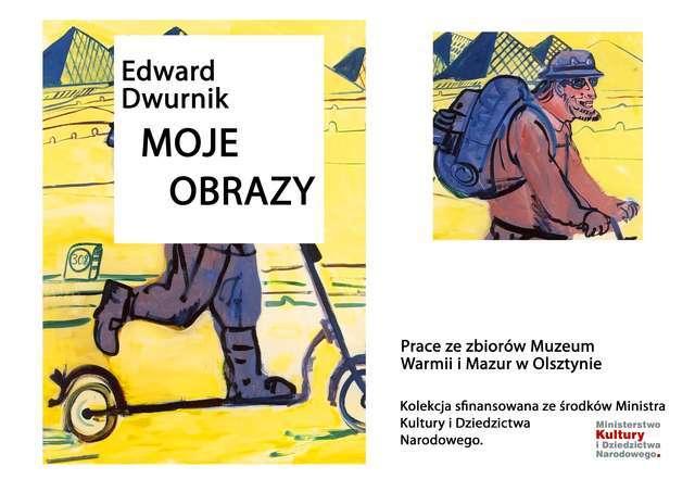 Wernisaż wystawy Edward Dwurnik. Moje obrazy. - full image