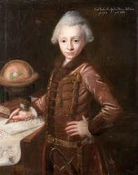 Autopsja młodzieńczego portretu Karola Ludwika Aleksandra zu Dohna (1758–1838).