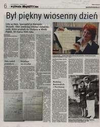 """Gazeta Olsztyńska"" - 13.04.2012 r."