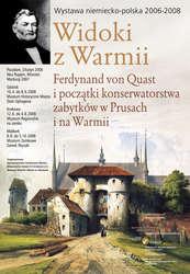 W Muzeum w Ostródzie, przy okazji wystawy, odbyło się seminarium poświęcone Ferdynandowi von Quastowi jako badaczowi i konserwatorowi zabytków.