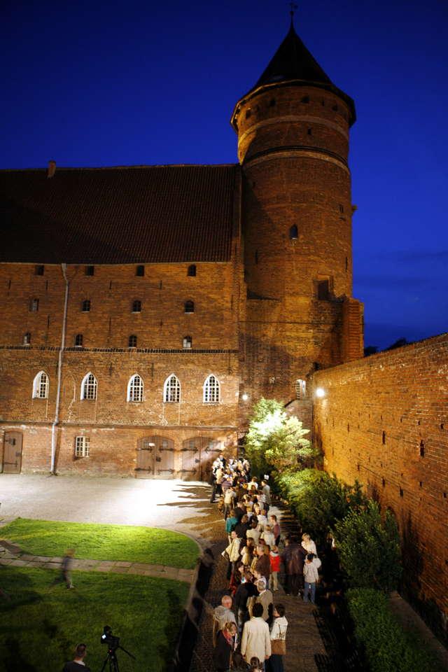 Noc Muzeów na zamku w Olsztynie. - full image