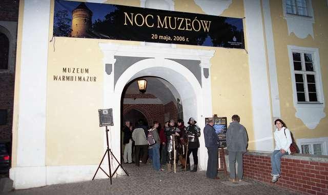 Międzynarodowa Noc Muzeów na zamku w Olsztynie. - full image