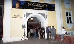 Międzynarodowa Noc Muzeów na zamku w Olsztynie.