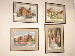 Wernisaż wystawy Romanas Borisovas, Zabytki obwodu kaliningradzkiego – akwarele i rysunki.