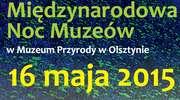 Międzynarodowa Noc Muzeów w Muzeum Przyrody w Olsztynie