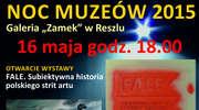 """Międzynarodowa Noc Muzeów w Galerii """"Zamek"""" w Reszlu"""
