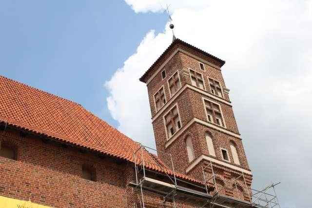 W lidzbarskim zamku trwa drugi etap prac konserwatorskich - full image