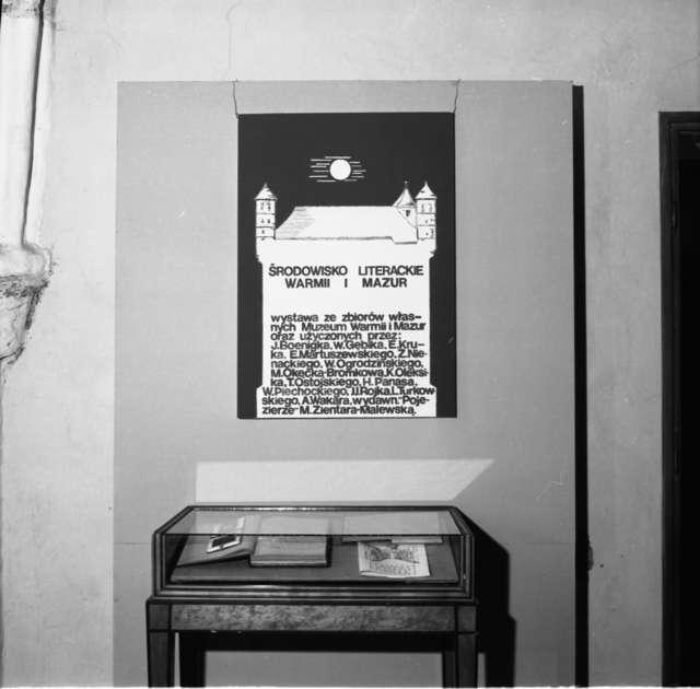 Otwarcie wystawy pt.: Środowisko literackie Warmii i Mazur. Muzeum Warmińskie na zamku w Lidzbarku – oddział Muzeum Warmii i Mazur.  - full image