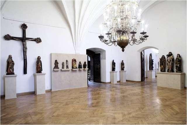 Otwarcie wystawy pt.: Późnogotycka rzeźba na Warmii, w Sambii i Natangii.  - full image