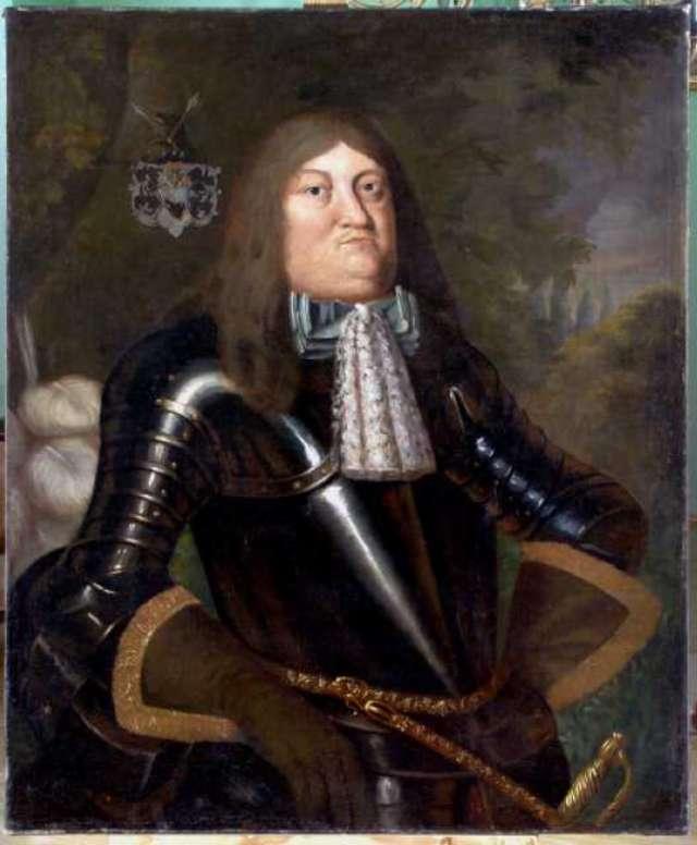 Portret Wł. Denhoffa  - full image