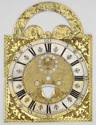 Na zdjęciu: tarcza zegarowa z XVIII wieku (Amsterdam) ze zbiorów Muzeum Warmii i Mazur w Olsztynie.