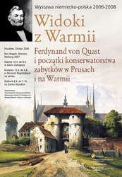 Wystawa pt.: Widoki z Warmii. Pokaz w Muzeum Regionalnym na zamku w Krokowej na Kaszubach