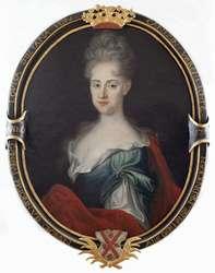 Epitafijny portret Gottlieby von Kanitz zamężnej von der Groeben.