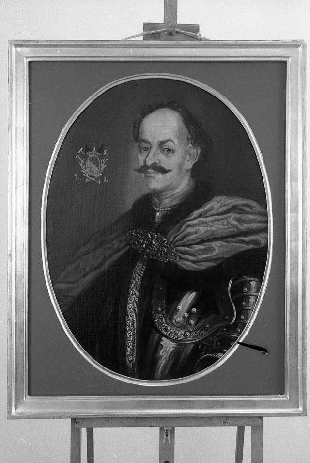 Zakupiono do zbiorów Działu Sztuki Dawnej XVIII-wieczny portret Aleksandra Szembeka. - full image