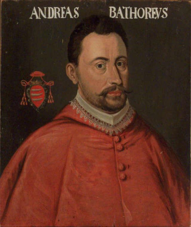 Portret kardynała Andrzeja Batorego - full image