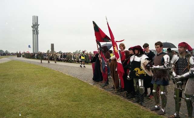 12 i 13 lipca odbyło się kolejne braterskie spotkanie wojsk pod Grunwaldem.  - full image