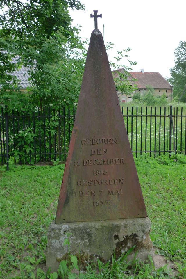 Iwona B. Kluk, kustosz w Dziale Sztuki Dawnej MWM, udzieliła dla TVP Olsztyn wypowiedzi na temat obelisku ku czci Wilhelma Strachowskiego.  - full image