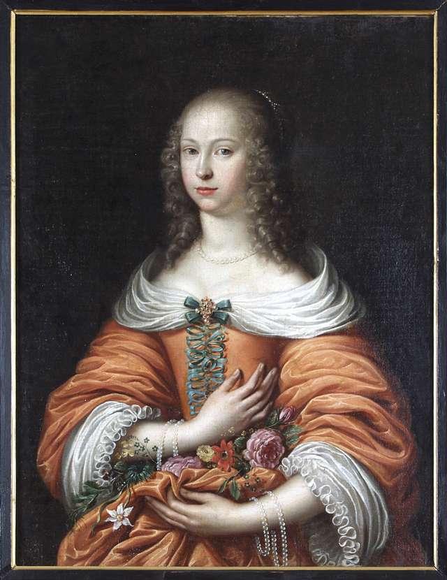 Portret Anny Marii Radziwiłł - full image