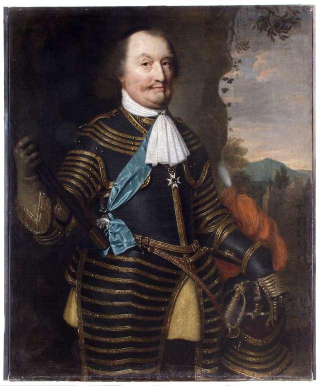 Portret księcia Jana Maurycego Nassau-Siegen. - full image