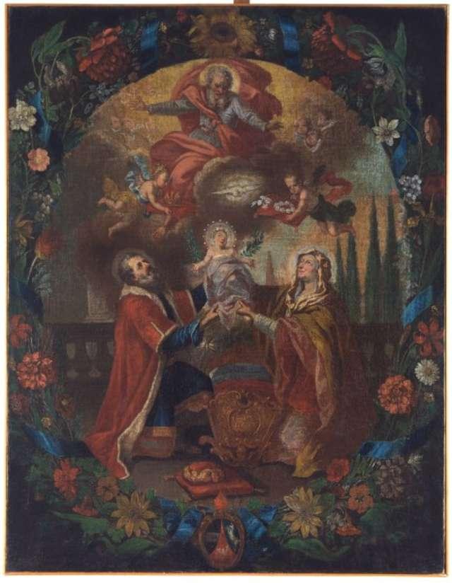 Władze samorządowe Lidzbarka Warmińskiego zakupiły i przekazały w trwały depozyt do Muzeum Warmii i Mazur barokowy obraz. - full image