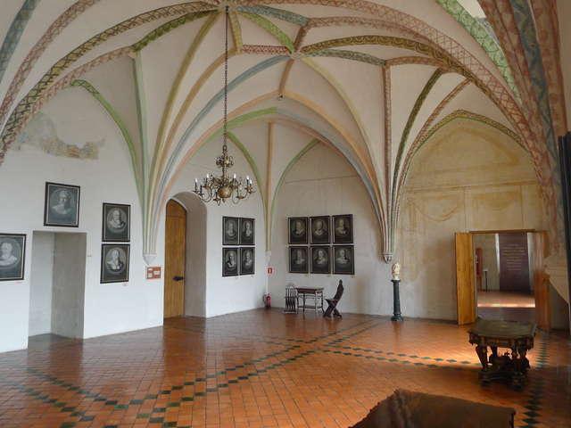 W Lidzbarku Warmińskim na zamku obchodzono imieniny biskupa Ignacego Krasickiego.  - full image