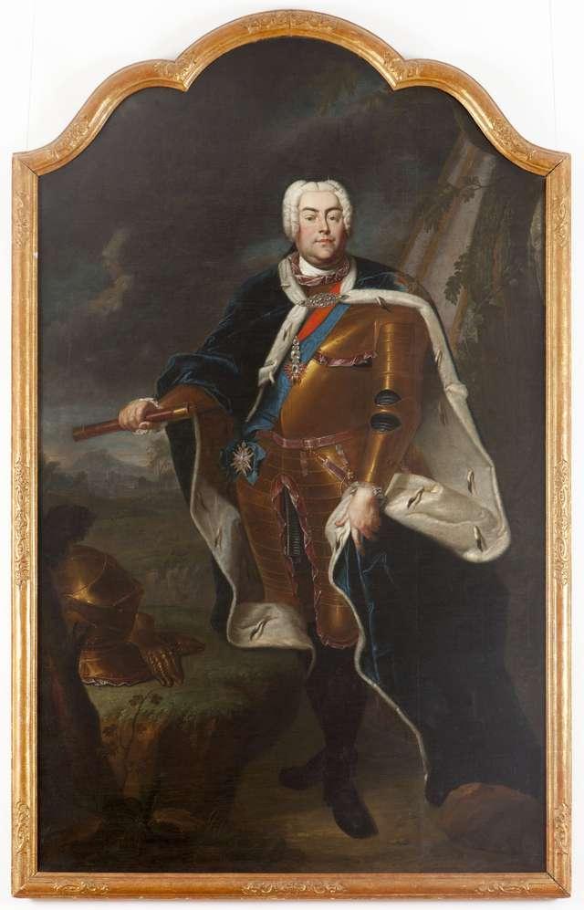 Z Muzeum Narodowego w Kielcach powróciły portrety Augusta III Sasa i królowej Marii Józefy.  - full image