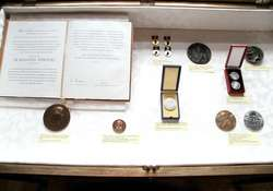 Otwarcie wystawy medali herderowskich ze zbiorów własnych.
