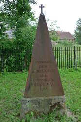 Iwona B. Kluk, kustosz w Dziale Sztuki Dawnej MWM, udzieliła dla TVP Olsztyn wypowiedzi na temat obelisku ku czci Wilhelma Strachowskiego.