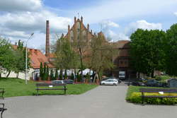 Zamek w Kętrzynie.