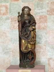 Wróciło z Krakowa pięć rzeźb późnogotyckich, które Muzeum Warmii i Mazur wypożyczyło na wystawę pt.: Wokół Wita Stwosza.