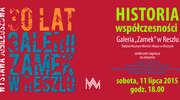 """Historia współczesności. 30 lat Galerii """"Zamek"""" w Reszlu - wystawa czasowa."""