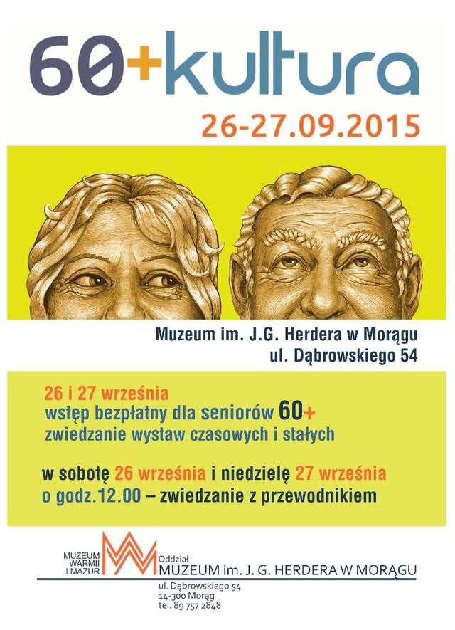 """""""60+Kultura"""" - Muzeum im. J.G. Herdera w Morągu - full image"""