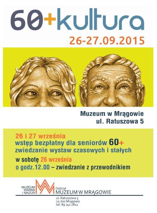 """60+Kultura"" - Muzeum w Mrągowie - full image"