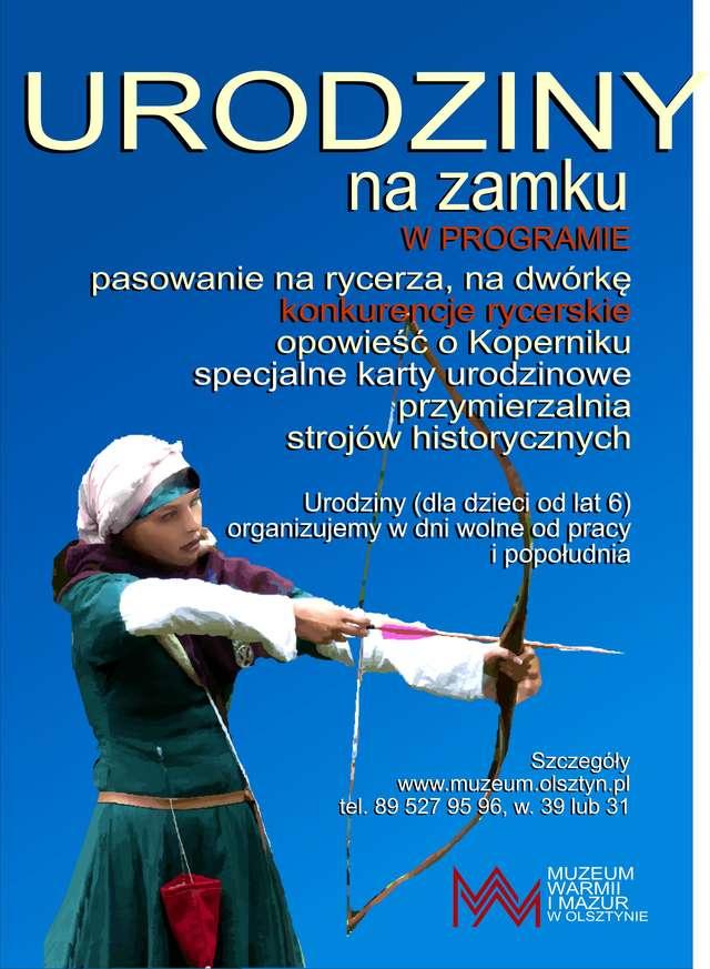 Urodzinowa przygoda w olsztyńskim zamku - full image