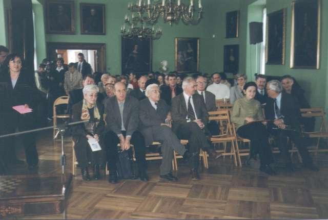"""Dwudniowa sesja naukowa pt. """"Johann Gotfried Herder 1803-2003 – w 200. rocznicę śmierci"""". - full image"""