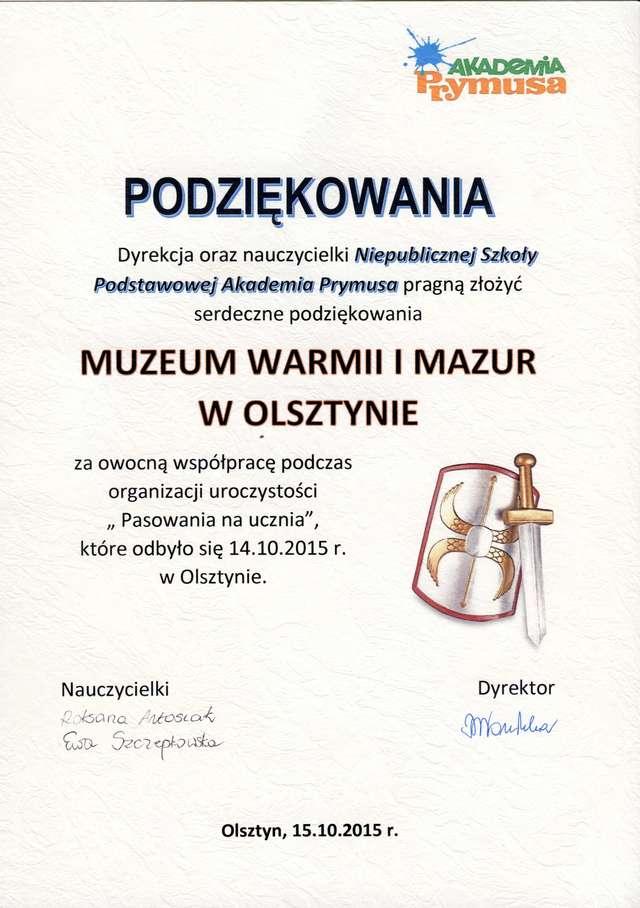 Zamkowi rycerze w Akademii Prymusa - full image
