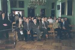 """Dwudniowa sesja naukowa pt. """"Johann Gotfried Herder 1803-2003 – w 200. rocznicę śmierci""""."""