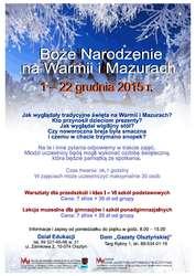Warsztaty bożonarodzeniowe w Domu Gazety Olsztyńskiej