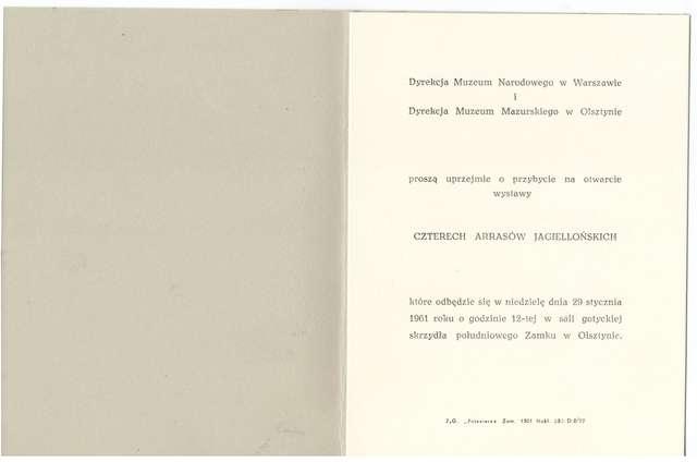 Wystawa – Cztery arrasy jagiellońskie - full image
