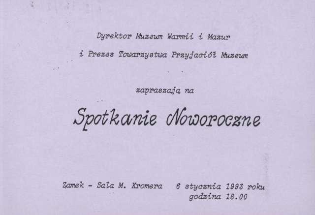 Spotkanie Noworoczne - full image