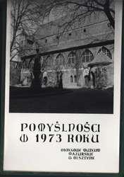 Kalendarz muzealny wydany na 1973 rok
